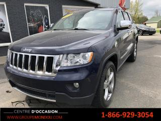 Used 2013 Jeep Grand Cherokee 4 RM, 4 portes, Limited for sale in St-Georges-de-Champlain, QC