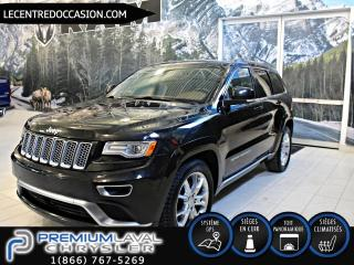 Used 2015 Jeep Grand Cherokee SUMMIT DIESEL*CUIR/TOIT PANO/NAV/4X4* for sale in Laval, QC