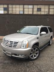 Used 2007 Cadillac Escalade ESV CERTIFIED for sale in Toronto, ON