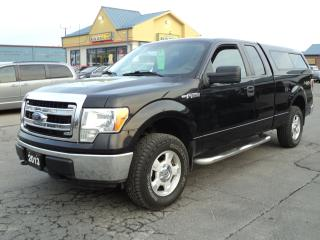 Used 2013 Ford F-150 XLT SuperCab 4X4 5.0L 6.5ft Box for sale in Brantford, ON