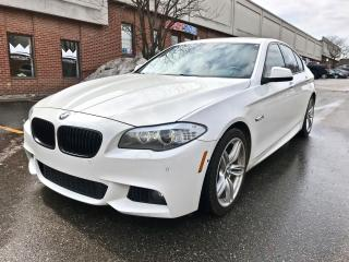 Used 2013 BMW 5 Series 550i xDrive, M SPORTS PKG, DRIVE ASSIST PKG for sale in North York, ON