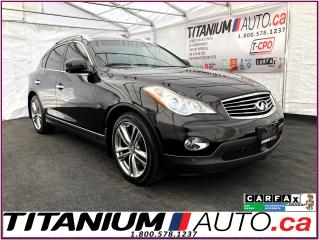 Used 2015 Infiniti QX50 AWD-GPS-360 Camera-Sunroof-Leather-Park Sensors-XM for sale in London, ON