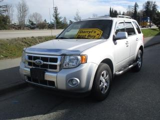 Used 2010 Ford Escape Limited for sale in Surrey, BC