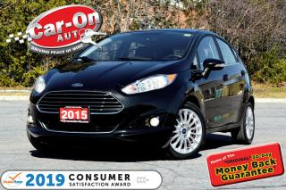 Used 2015 Ford Fiesta Titanium 36,000 KM LEATHER REAR CAM HTD SEATS for sale in Ottawa, ON