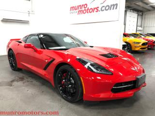 Used 2017 Chevrolet Corvette Stingray Z51 Auto 2LT Glass Roof Apple Car Play for sale in St. George Brant, ON