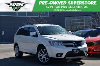Used 2013 Dodge Journey SXT-  one owner, low km, bought and serviced at Ox for sale in London, ON