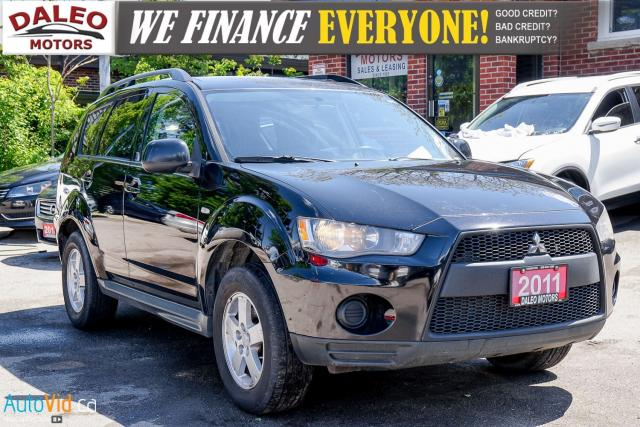 2011 Mitsubishi Outlander ES | BLUETOOTH | HEATED SEATS |