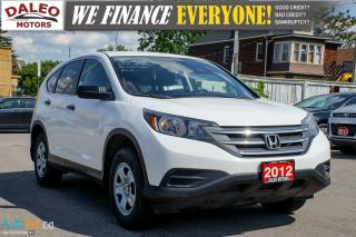 Used 2012 Honda CR-V LX AWD (A5)  HEATED SEATS for sale in Hamilton, ON