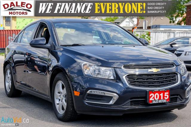 2015 Chevrolet Cruze 2LT | SUNROOF | LEATHER HEATED SEATS | BACKUP CAM