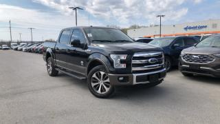 Used 2017 Ford F-150 KING RANCH 3.5L V6 LEATHER NAVIGATION for sale in Midland, ON