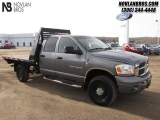 Used 2006 Dodge Ram 3500 SLT for sale in Paradise Hill, SK