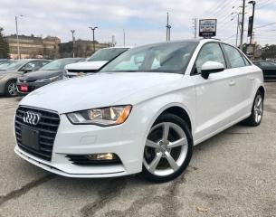Used 2016 Audi A3 2.0T Quattro Progressiv AWD|Pano Sunroof|Keyless|A for sale in Mississauga, ON