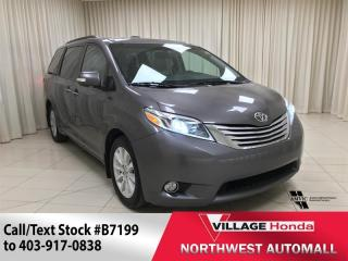 Used 2015 Toyota Sienna XLE AWD 7-Pass for sale in Calgary, AB