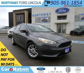 Used 2015 Ford Focus SE | KEYLESS ENTRY | HTD SEATS/WHEEL | BACKUP CAM for sale in Brantford, ON