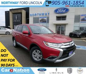Used 2017 Mitsubishi Outlander ES | AWD | HTD SEATS | BACKUP CAM | TOUCHSCREEN | for sale in Brantford, ON