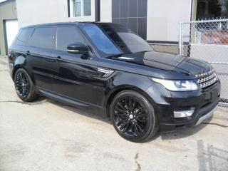 Used 2016 Land Rover Range Rover Sport HSE Td6 DIESEL * COMME NEUF * Triple BLA for sale in Laval, QC