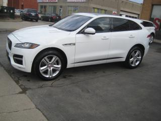 Used 2017 Jaguar F-PACE 20d  Diesel R-Sport Smart Cruise & Self Park for sale in North York, ON