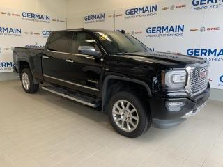 Used 2016 GMC Sierra 1500 DENALI- CREW CAB -4RM -CUIR for sale in St-Raymond, QC