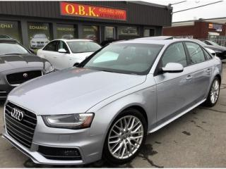 Used 2015 Audi A4 S Line-Premium for sale in Laval, QC
