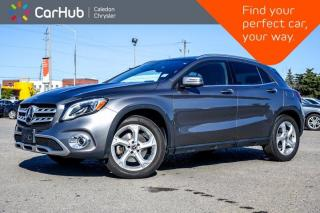 Used 2018 Mercedes-Benz GLA GLA 250 4Matic Navigation Panoramic Sunroof Backup Camera Bluetooth Leather Heat Front Seats 18
