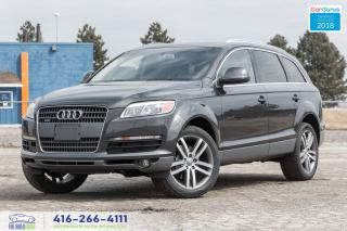 Used 2007 Audi Q7 4.2 6-Seat Navi GPS RearCam Certified No Accident for sale in Bolton, ON