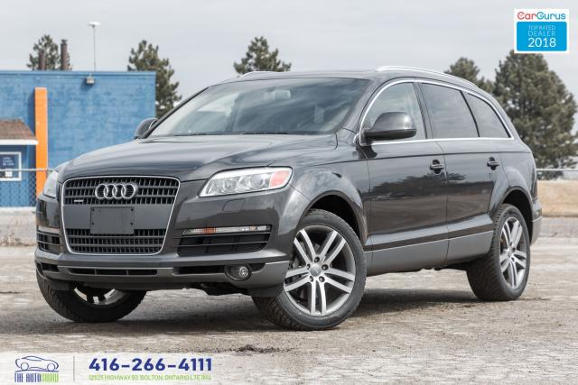 2007 Audi Q7 4.2 6-Seat Navi GPS RearCam Certified No Accident