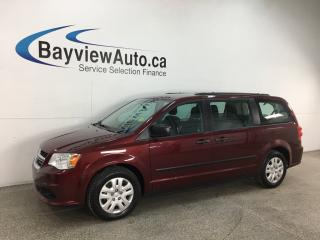 Used 2017 Dodge Grand Caravan CVP/SXT - A/C! CRUISE! ECO MODE! PWR GROUP! for sale in Belleville, ON