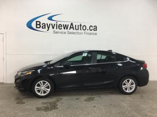 Used 2018 Chevrolet Cruze LT Auto - SUNROOF! PWR GROUP! ALLOYS! BLUETOOTH! for sale in Belleville, ON