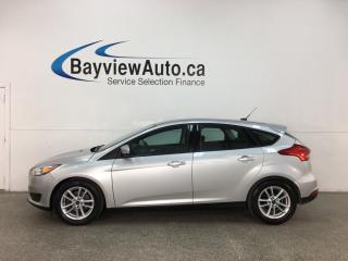 Used 2016 Ford Focus SE - AUTO! HATCH! PWR GROUP! for sale in Belleville, ON