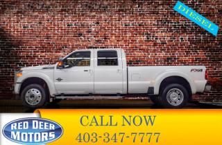 Used 2016 Ford F-450 4x4 Crew Cab Lariat FX4 DRW for sale in Red Deer, AB