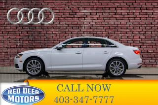 Used 2017 Audi A4 2.0T Progressiv Quattro Leather Roof Nav for sale in Red Deer, AB