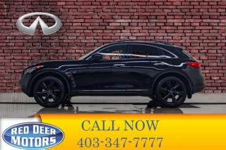 Used 2017 Infiniti QX70 AWD S Leather Roof Nav for sale in Red Deer, AB
