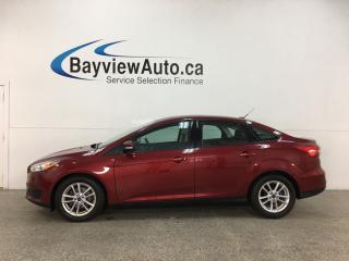 Used 2015 Ford Focus - AUTO! HTD SEATS! A/C! CRUISE! HTD STEERING! for sale in Belleville, ON