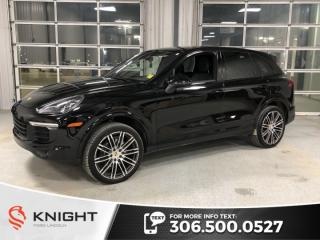 Used 2017 Porsche Cayenne Platinum Edition, Trade In, 2 sets of wheels!! for sale in Moose Jaw, SK