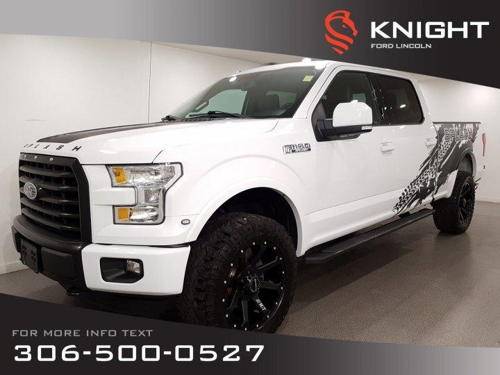 Used 2016 Ford F-150 Auto, Crew, Leather, Navigation, Lift