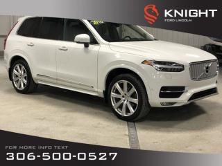 Used 2016 Volvo XC90 T6 Inscription, Auto, Leather, AWD, 7 Pass for sale in Moose Jaw, SK