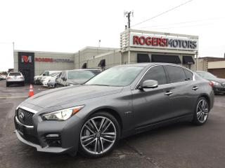 Used 2015 Infiniti Q50 HYBRID SPORT AWD - NAVI - 360 CAMERA for sale in Oakville, ON