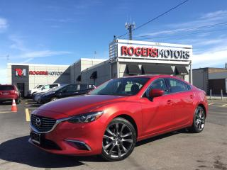 Used 2016 Mazda MAZDA6 GT - HATCH - NAVI - LEATHER - SUNROOF for sale in Oakville, ON