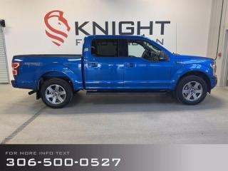 New 2019 Ford F-150 XLT Sport, Low Km's, Clean accident report, , for sale in Moose Jaw, SK