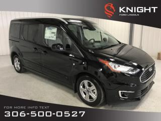 New 2019 Ford Transit Connect Wagon Titanium for sale in Moose Jaw, SK