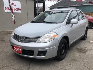 Used 2007 Nissan Versa 1.8S for sale in Hamilton, ON