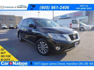 Used 2013 Nissan Pathfinder S | 7 PASSENGER | DUAL CLIMATE | CRUISE CONTROL for sale in Hamilton, ON