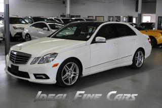 Used 2011 Mercedes-Benz E-Class NAVIGATION/PANO/BACK-UP CAMERA/PUSH BUTTON START! for sale in Toronto, ON