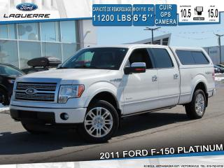 Used 2011 Ford F-150 Platinum 4x4 Cuir for sale in Victoriaville, QC
