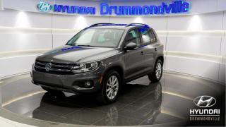 Used 2014 Volkswagen Tiguan COMFORTLINE + GARANTIE + TOIT PANO + MAG for sale in Drummondville, QC