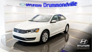 Used 2012 Volkswagen Passat TRENDLINE + 76 600 KM + MAGS + SIÈGES CH for sale in Drummondville, QC