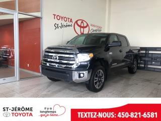 Used 2017 Toyota Tundra * TRD * CREW MAX * MAGS * 5.7 L * 4X4 for sale in Mirabel, QC