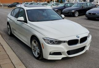 Used 2015 BMW 335i Xdrive White On Red for sale in Dorval, QC
