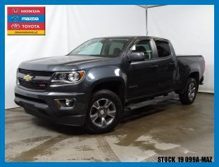 Used 2015 Chevrolet Colorado Z71|4x4|crewcab|gps for sale in Drummondville, QC