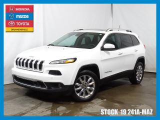 Used 2015 Jeep Cherokee Ltd|toitpano|cuir|gp for sale in Drummondville, QC